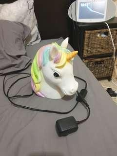 Cute unicorn light, been used but it is In perfect condition