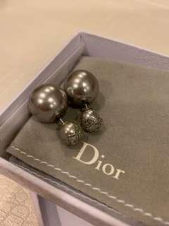 Dior Pearl Tribal Earrings