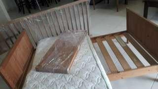 Ikea Baby changing bed & bed cot