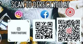 QR CODES TO VISIT OUR ONLINE STORE