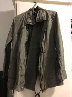 Forever 21 size small army green jacket