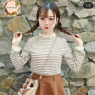 Long sleeve top korean style