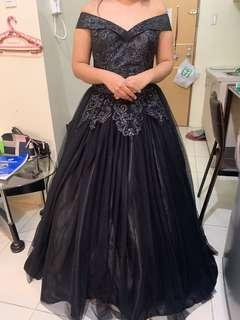 Gown for Rent (Black Ball Gown)