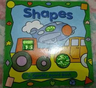 Shapes: A Sparkly Board Book