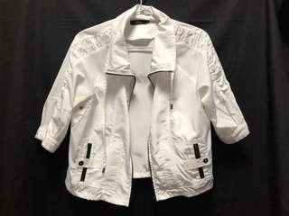 White black details Sporty Jacket