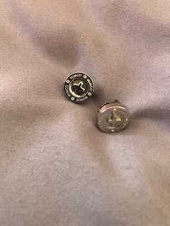 MIMCO stud earrings silver