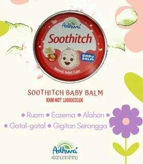 Baby balm adhwa / Sootich balm / balm gatal / eczema / itchy