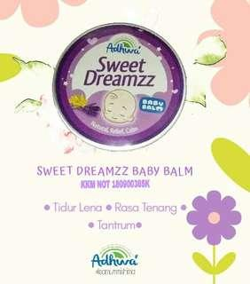 Baby balm adhwa / sweet dreamzz balm / balm tidur bayi