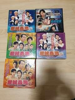 TVB and Korea drama VCD