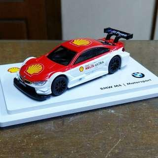 Shell Helix BMW M4 Motorsport Car Die Cast