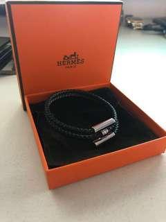 Authentic Hermes Bracelet   - Tournis Tresse
