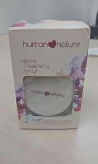 Human nature pore cleaning brush
