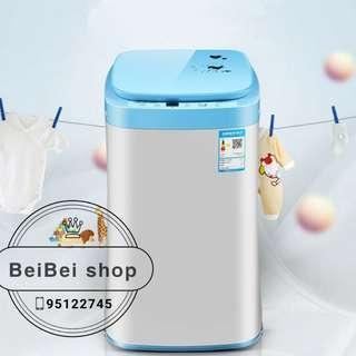 Chigo MINI 迷你洗衣機 3.5KG 全自動洗衣機 日式 老人 嬰兒 BB 紫外消毒 合1-3人 香港三腳 一年保養