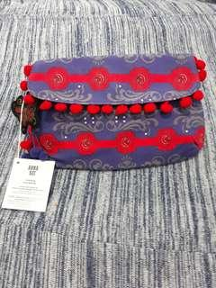 Anna Sui Clutch/ Makeup Pouch/ Pencil case
