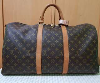 e32fd25663f2 Authentic Louis Vuitton Keepall 50