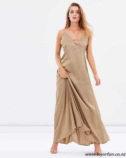 BNWT Maxi Slip Silk Dress