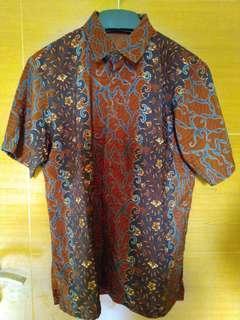 (Preloved) Kemeja Batik Pria (Kode:062)