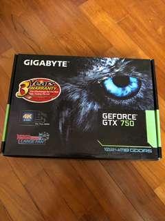 Gigabyte GeForce GTX 750
