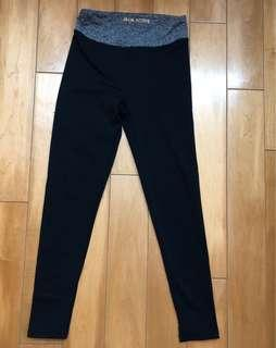 女童黑色瑜珈leggings 7-8歲