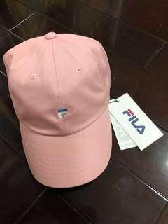 🚚 韓國購入 Fila粉色棒球帽