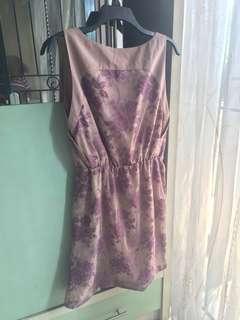 Purple Mididress
