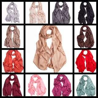 🚚 Satin silk shawl