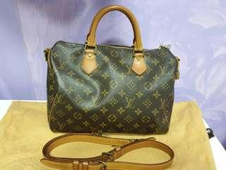 LV Authentic Bandorliere 30