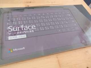 原裝 Microsoft Surface 第二代實體Type Cover