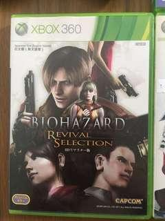 Xbox360  生化危機4 BIOHAZARD 4 REVIVAL SELECTION