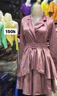 Pink dress bangkok