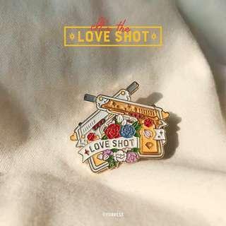EXO Love Shot Enamel Pin