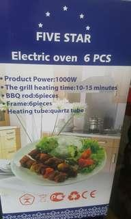 Vertical Electric Grill with 6 skewers Kebab Style