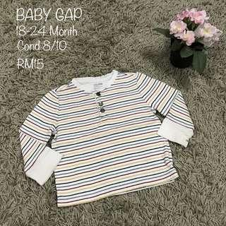 Baby gap Stripe Top