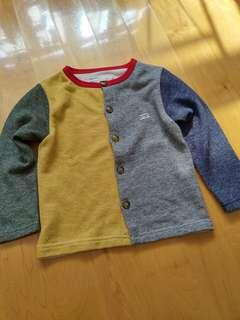 Kids Mutli Color Cardigan 110