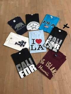 T-Shirts California, LA, USA