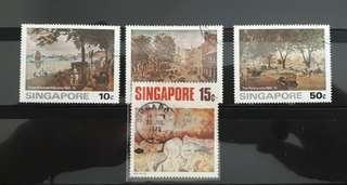 Singapore stamps used (offer 27/2 - 3/3 )