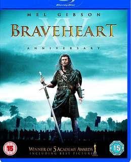 Braveheart Bluray