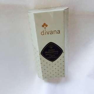 divana organic hand cream30g dhevi  frangipani