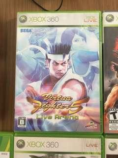 Xbox360 games  VIRTUA FIGHTER 5 VR5