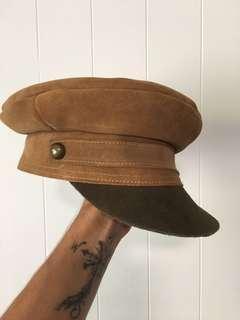 Lack of Color suede train hat