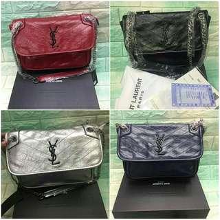 w Box Receipt CLEARANCE SALE YSL Niki Bag Yves Saint Laurent Niki Bag YSL  Chain a2bf8a14a7c2b