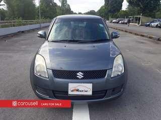 Suzuki Swift 1.3A (New 5-yr COE)