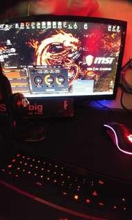 Rush Gaming PC!!!! i7 exept monitor