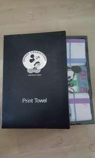 🚚 Print Towel - Mickey