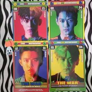 EXO tpom Double card set