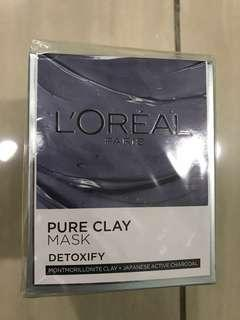 L'Oréal Pure Clay Mask (Detoxify) - COD only