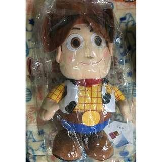 玩具總動員 胡迪 娃娃 公仔 玩偶 拉環 大隻 大型 正版 牛仔 布偶 玩總