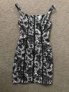 Guess satin dress