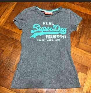 🚚 Authentic SUPERDRY Tees S size (assorted design)