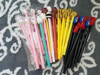 Bundle mix pens.